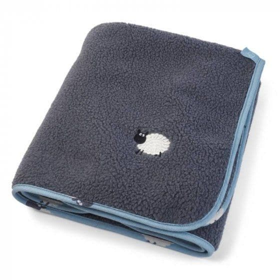 Counting Sheep Oval Dog Bed